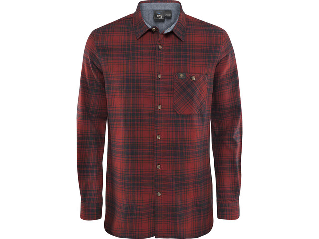 Elevenate M's Vallée Shirt Beetroot Red